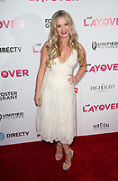 HOLLYWOOD, CA - AUGUST 23: Lindsay Selles, at Premiere Of DIRECTV And Vertical Entertainment's 'The Layover' at The ArcLight Hollywood on August 23, 2017 in Los Angeles, California. Credit: Faye Sadou/MediaPunch