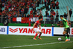 Jeonjuk Hyundai Motors vs Guangzhou Evergrande during the 2014 AFC Champions League Group G match on April 02, 2014 at the Jeonju World Cup Stadium in Jeonju, Korea Republic. Photo by World Sport Group