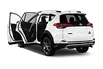 Car images close up view of a 2018 Toyota RAV4 Adventure 5 Door SUV doors