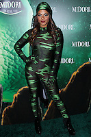 WEST HOLLYWOOD, CA - OCTOBER 29: Christina Milian at 3rd Annual Midori Green Halloween Party held at Bootsy Bellows on October 29, 2013 in West Hollywood, California. (Photo by Xavier Collin/Celebrity Monitor)