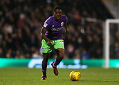 31st October 2017, Craven Cottage, London, England; EFL Championship football, Fulham versus Bristol City; Jonathan Leko of Bristol City in action