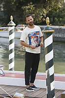 Alessandro Borghi is seen during the 75th Venice Film Festival on August 29, 2018 in Venice, Italy.