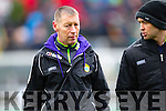 Kerry manager Ciaran Carey Kerry v Wexford National Hurling League, Division 1B, Round 3, at Austin Stack Park, Tralee, on Sunday.