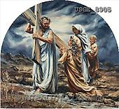 Dona Gelsinger, EASTER RELIGIOUS, paintings(USGE8905,#ER#) Ostern, religiös, Pascua, relgioso, illustrations, pinturas