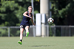 CARY, NC - JULY 20: Megan Lindsay. The North Carolina Courage held a training session on July 20, 2017, at WakeMed Soccer Park Field 3 in Cary, NC.