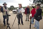 Photographers at Mission San Antonio de Padua, California, during the 3rd Al Weber Mission Portfolio Workshop, April 2011...Dale Dani, Robert Lane, Bruce Carter, A.V. Pike, Kazumitsu Okutomi.