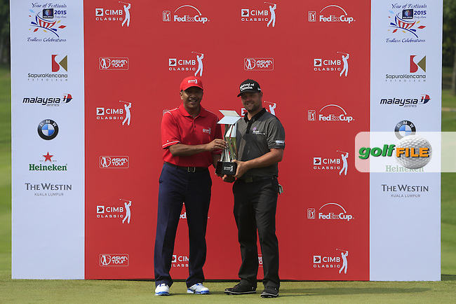 during Round 4 of the CIMB Classic in the Kuala Lumpur Golf &amp; Country Club on Sunday 2nd November 2014.<br /> Picture:  Thos Caffrey / www.golffile.ie