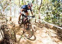Picture by Alex Broadway/SWpix.com - 05/09/17 - Cycling - UCI 2017 Mountain Bike World Championships - XCO - Cairns, Australia - Cameron Orr of Great Britain in action during a practice session.