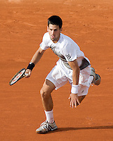 30-5-08, France,Paris, Tennis, Roland Garros, Djokovic