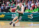 S&ouml;dert&auml;lje 2014-04-22 Basket SM-Semifinal 7 S&ouml;dert&auml;lje Kings - Uppsala Basket :  <br /> S&ouml;dert&auml;lje Kings Toni Bizaca i aktion <br /> (Foto: Kenta J&ouml;nsson) Nyckelord:  S&ouml;dert&auml;lje Kings SBBK Uppsala Basket SM Semifinal Semi T&auml;ljehallen portr&auml;tt portrait