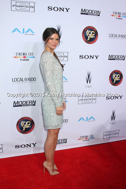 LOS ANGELES - FEB 8:  Danielle Vasinova at the 2015 Society Of Camera Operators Lifetime Achievement Awards at a Paramount Theater on February 8, 2015 in Los Angeles, CA