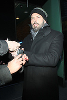 NEW YORK, NY - JANUARY 8: Ben Affleck at Good Morning America in New York City. January 8, 2013: Credit: RW/MediaPunch Inc. /NortePhoto