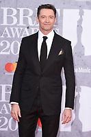 Hugh Jackman<br /> arriving for the BRIT Awards 2019 at the O2 Arena, London<br /> <br /> ©Ash Knotek  D3482  20/02/2019<br /> <br /> *images for editorial use only*