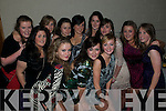 St Senan's NYE Party: Enjoying the NYE party held at St Senan's Clubhouse, Mountcoal, Listowel  were  in front from left:  Heather O'Rourke, Leanne Costello & Mairead Robberts. Back: Katy Mulvihill, Emma Enright, Julianne Galvin, Sonia Sheehan, Megan Galvin, Connie Barry, Fionnula Dillon, Grace Moriarity & Yvonne Carmody.