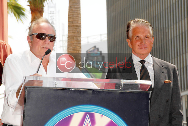 James Caan and George Hamilton<br />