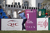 Maximilian Kieffer (GER) in action during the final round of the Commercial Bank Qatar Masters, Doha Golf Club, Doha, Qatar. 10/03/2019<br /> Picture: Golffile | Phil Inglis<br /> <br /> <br /> All photo usage must carry mandatory copyright credit (&copy; Golffile | Phil Inglis)