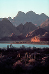 Baja, Mexico, Sierra Giganta, mountain range, East coast of Baja Sur, Sea of Cortez, Gulfo California, Gulf of California, .