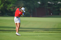 Minjee Lee (AUS) watches her tee shot on 5 during round 4 of the 2018 KPMG Women's PGA Championship, Kemper Lakes Golf Club, at Kildeer, Illinois, USA. 7/1/2018.<br /> Picture: Golffile | Ken Murray<br /> <br /> All photo usage must carry mandatory copyright credit (&copy; Golffile | Ken Murray)