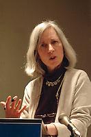 Martha Minow Dean and Professor at Harvard Law School speaking at the Hadassah Brandeis Institute Brandeis University April15,2008