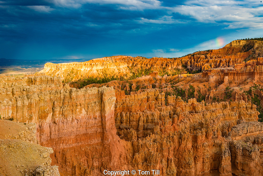 Sunset Point view, Bryce Canyon National Park, Utah, Wasatch limestone pinnacles