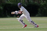 A Raji of Ilford during Brentwood CC vs Ilford CC, Shepherd Neame Essex League Cricket at The Old County Ground on 8th June 2019