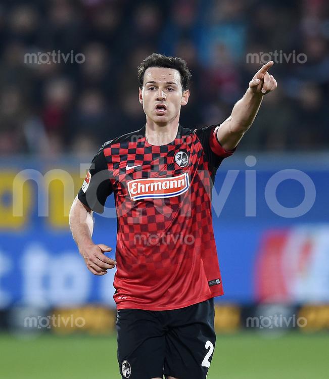Fussball  2. Bundesliga  Saison 2015/2016  27. Spieltag SC Freiburg - Karslruher SC        13.12.2015 Nicolas Hoefler (SC Freiburg)