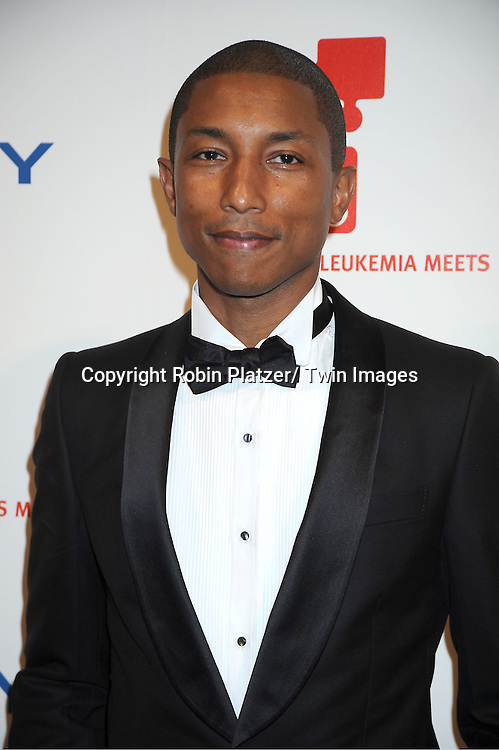 Pharrell Williams attending The DKMS 5th Annual Gala: Linked Against Leukemia honoring Rihanna and Michael Clinton on April 28, 2011 at Cipriani Wall Street in New York City.