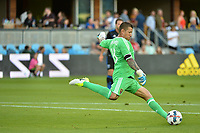 San Jose, CA - Saturday June 24, 2017: Nick Rimando during a Major League Soccer (MLS) match between the San Jose Earthquakes and Real Salt Lake at Avaya Stadium.