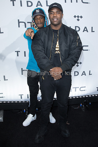 BROOKLYN, NY - OCTOBER 20: A$AP Ferg on arrivals for TIDALx1020 Concert at Barclays Center in Brooklyn, NY on October 20, 2015. Credit: Abel Fermin/MediaPunch