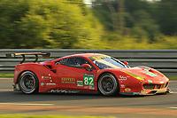 #82 RISI COMPETIZIONE (USA) FERRARI 488 GTE LMGTE PRO GIANCARLO FISICHELLA (ITA) TONI VILANDER (FIN) MATTEO MALUCELLI (ITA)