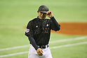 Toshihisa Nishi (JPN), <br /> NOVEMBER 14, 2014 - Baseball : <br /> 2014 All Star Series Game 2 <br /> between Japan and MLB All Stars <br /> at Tokyo Dome in Tokyo, Japan. <br /> (Photo by YUTAKA/AFLO SPORT)[1040]