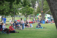 NWA Democrat-Gazette/J.T. WAMPLER Friday May 26, 2017 at Murphy in May, an event celebrate the re-opening of Murphy Park in Springdale. There was live music from Leah and the Mojo Doctors and food truck vendors. Murphy Park will host several events this summer with more live music and outdoor movies on the schedule. For more information go to www.springdalear.gov/235/Parks-Recreation