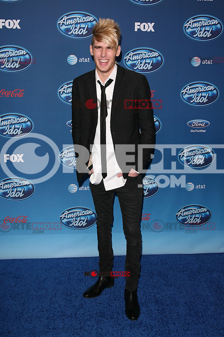 LOS ANGELES, CA - January 9: Colton Dixon at The American Idol Premiere Event at Royce Hall UCLA, in Westwood, California. January 9, 2013. Credit: mpi20/MediaPunch inc. /NortePhoto /NortePhoto /NortePhoto
