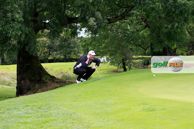 Gerard Lawlor (Craddockstown) on the 2nd during round 1 of The Mullingar Scratch Cup in Mullingar Golf Club on Sunday 3rd August 2014.<br /> Picture:  Thos Caffrey / www.golffile.ie