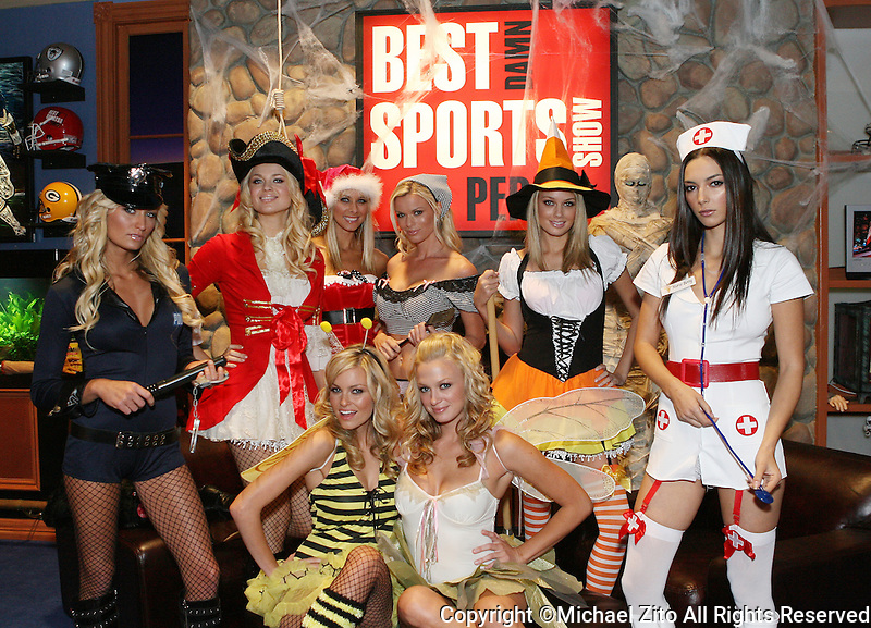 Best Damn Sports Show Period Halloween Special featuring LegAvenue