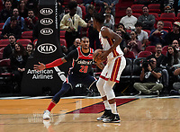 Gary Payton II (G, Washington Wizards, #20) gegen Jimmy Butler (G/F Miami Heat, #22) - 22.01.2020: Miami Heat vs. Washington Wizards, American Airlines Arena