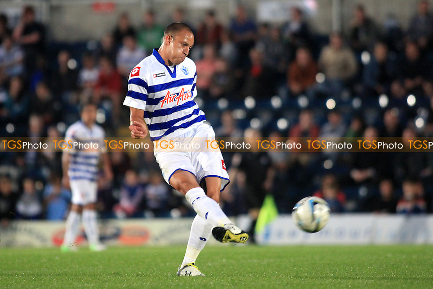 QPR's Bobby Zamora in action - Wycombe Wanderers vs QPR - Friendly Football Match at Adams Park, High Wycombe, Buckinghamshire - 31/07/12 - MANDATORY CREDIT: Paul Dennis/TGSPHOTO - Self billing applies where appropriate - 0845 094 6026 - contact@tgsphoto.co.uk - NO UNPAID USE.