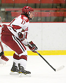 Rence Coassin (Harvard - 17) - The visiting Quinnipiac University Bobcats defeated the Harvard University Crimson 3-1 on Wednesday, December 8, 2010, at Bright Hockey Center in Cambridge, Massachusetts.