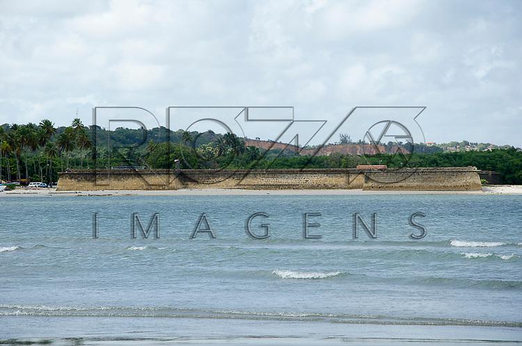 Forte de Santa Cruz de Itamaracá - conhecido como Forte Orange, Ilha de Itamaracá - PE, 12/2012.