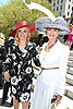 Hilary Geary Ross and Blaine Trump  attends the Central Park Conservancy Hat Luncheon on May 2, 2018 in the Conservatory Garden in New York, New York, USA.<br /> <br /> photo by Robin Platzer/Twin Images<br />  <br /> phone number 212-935-0770