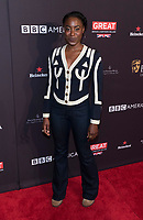 Kirby Howell-Baptiste attends the BAFTA Los Angeles Awards Season Tea Party at Hotel Four Seasons in Beverly Hills, California, USA, on 06 January 2018. Photo: Hubert Boesl - NO WIRE SERVICE - Photo: Hubert Boesl/dpa /MediaPunch ***FOR USA ONLY***