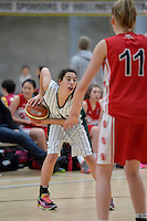 Action from the Basketball - U15 National Champs at ASB Sports Centre, Wellington, New Zealand on Saturday 19 July 2014. <br /> Photo by Masanori Udagawa. <br /> www.photowellington.photoshelter.com.
