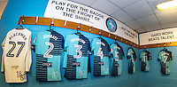Changing Room pre match during the Sky Bet League 2 match between Wycombe Wanderers and Accrington Stanley at Adams Park, High Wycombe, England on 16 August 2016. Photo by Andy Rowland.