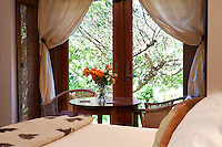 Sally Robertson's guest garden room