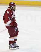 Trevor Moore (DU - 8) - The Boston College Eagles defeated the University of Denver Pioneers 6-2 in their NCAA Northeast Regional semi-final on Saturday, March 29, 2014, at the DCU Center in Worcester, Massachusetts.