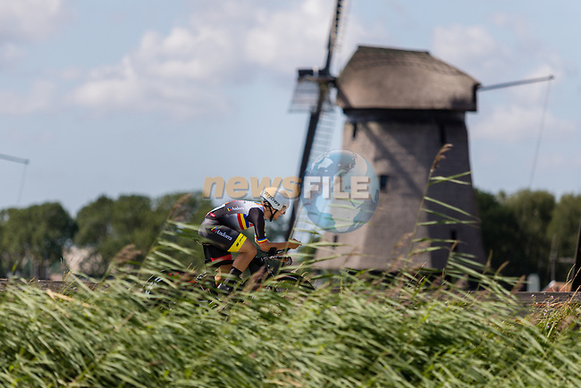Oscar Cabanas Quintela (AND) in action during the 2019 ITT Elite Men European Championships, 8th August 2019. Photo by Thomas van Bracht / PelotonPhotos.com   All photos usage must carry mandatory copyright credit (Peloton Photos   Thomas van Bracht)