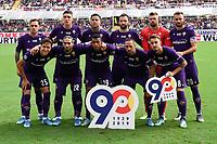 Fiorentina team photo line up <br /> Firenze 6-10-2019 Stadio Artemio Franchi <br /> Football Serie A 2019/2020 <br /> ACF Fiorentina - Udinese Calcio <br /> Photo Andrea Staccioli / Insidefoto