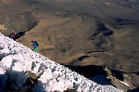 Climbing Nevado Sajama (6549 m), Bolivia, 1999.