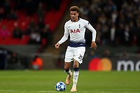 Dele Alli of Tottenham Hotspur during Tottenham Hotspur vs PSV Eindhoven, UEFA Champions League Football at Wembley Stadium on 6th November 2018