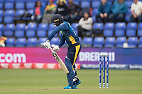 Dhananjaya de Silva (Sri Lanka) nicks off and is caught for 0 during Afghanistan vs Sri Lanka, ICC World Cup Cricket at Sophia Gardens Cardiff on 4th June 2019